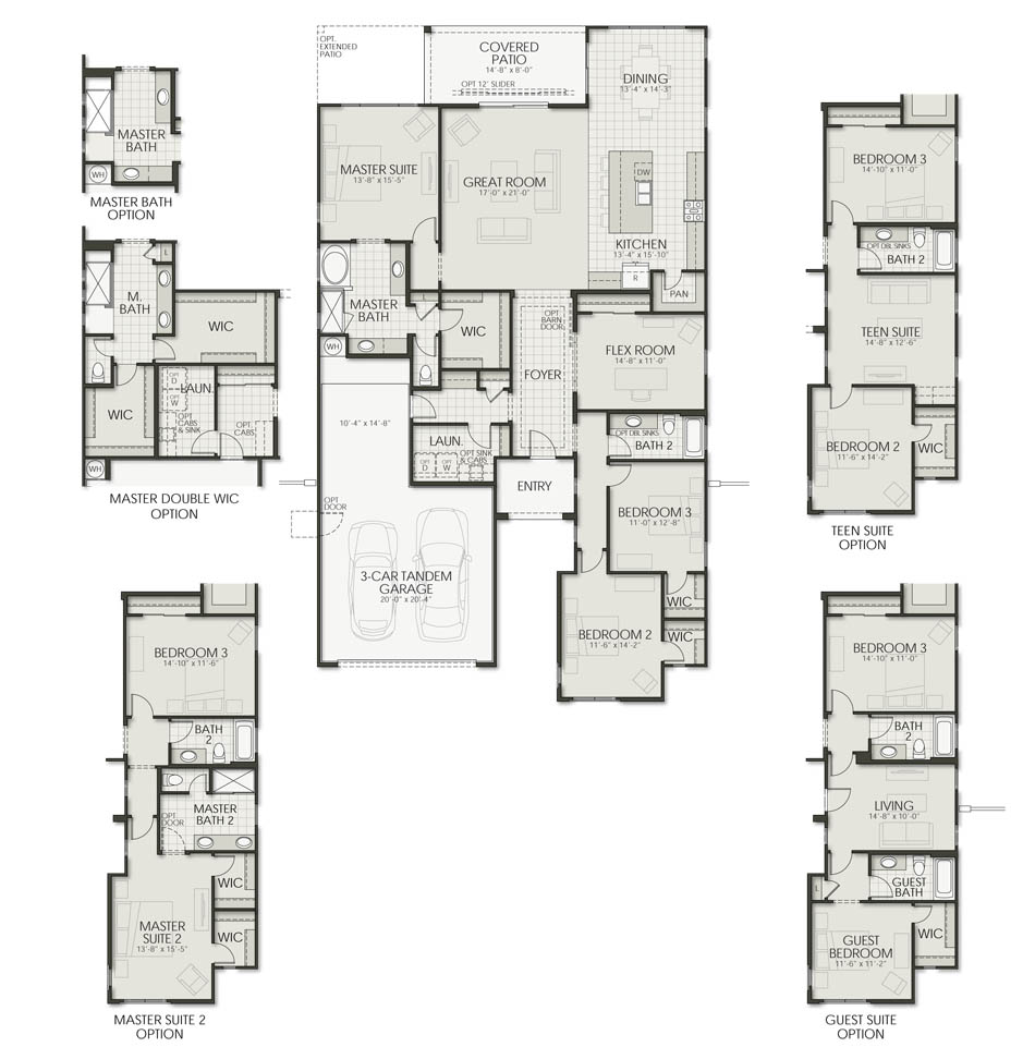 Plan 2305 Floorplan Image