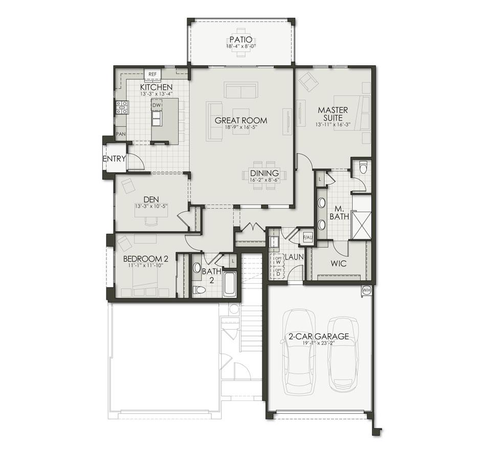 Floor Plan C1 Floorplan Image