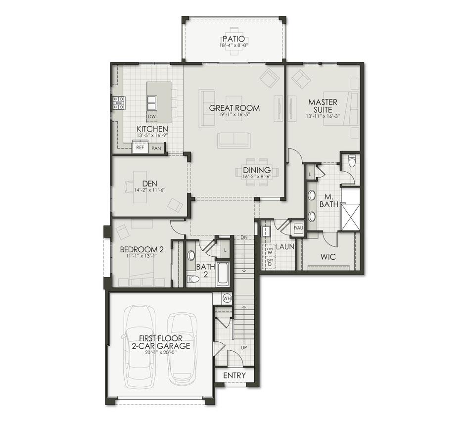 Floor Plan C2 Floorplan Image