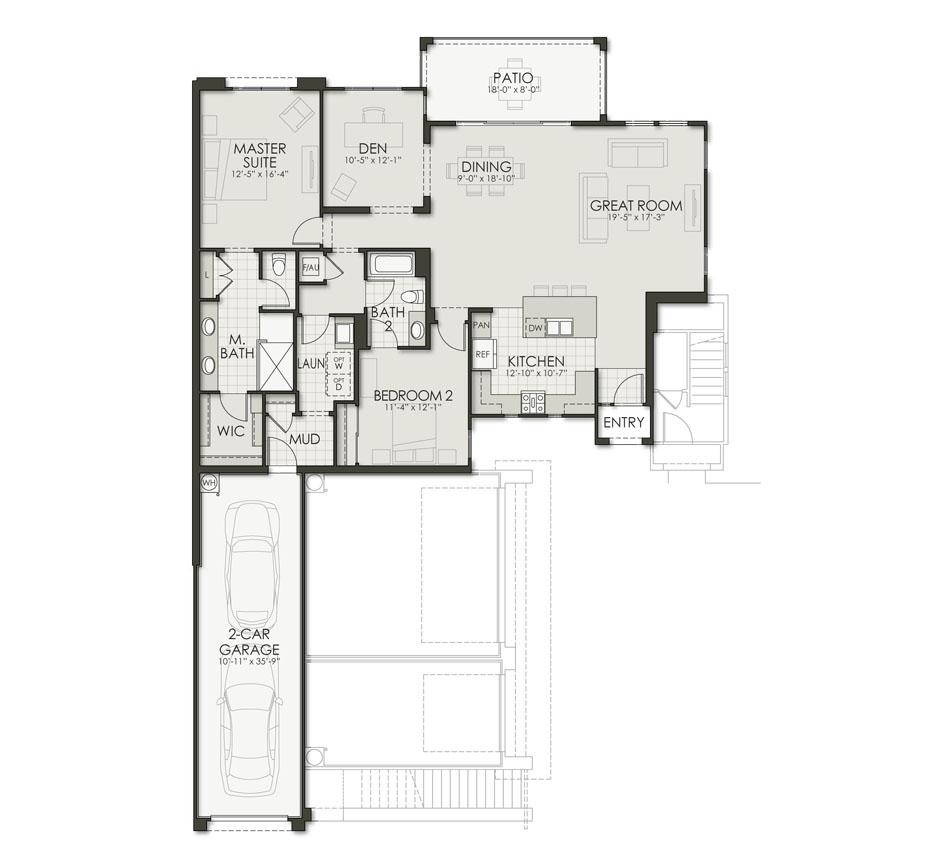 Floor Plan D1 Floorplan Image