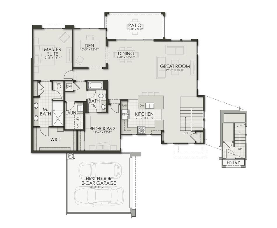 Floor Plan D2 Floorplan Image