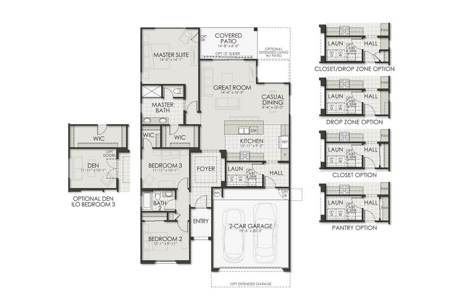 1589 Agave Floorplan Image