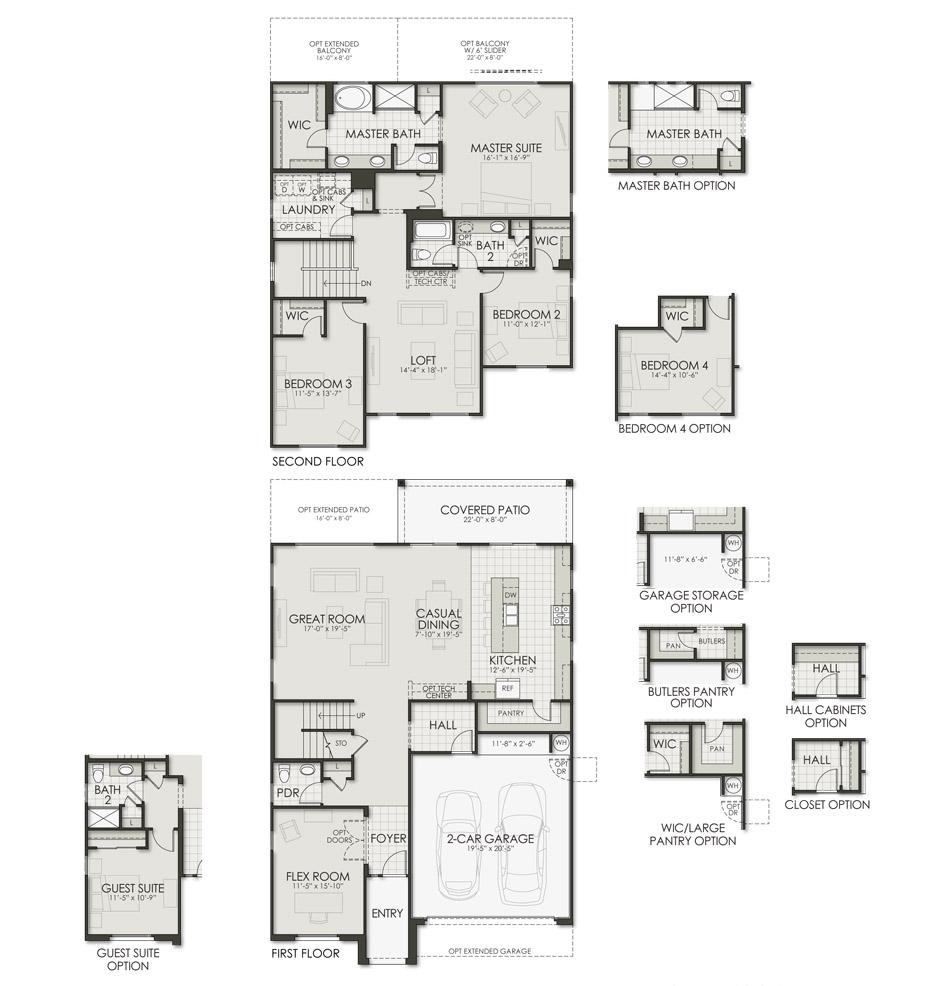 2851 Stella Floorplan Image
