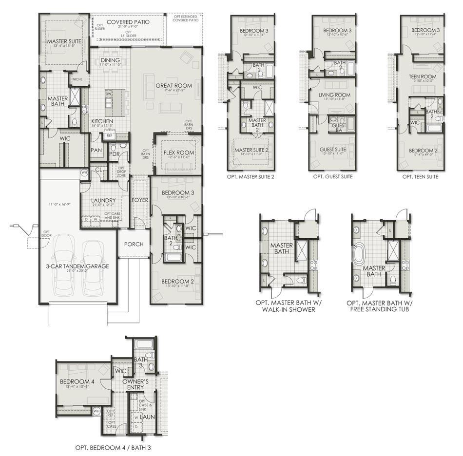Plan 2492 Floorplan Image