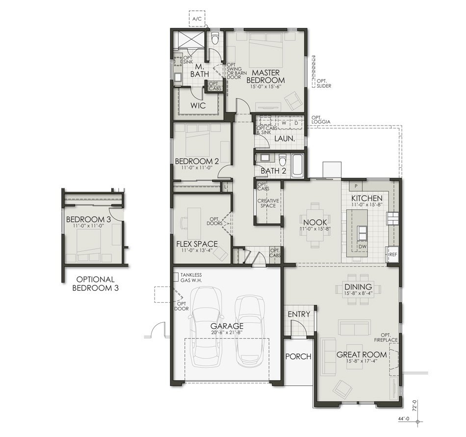 Plan One Floorplan Image
