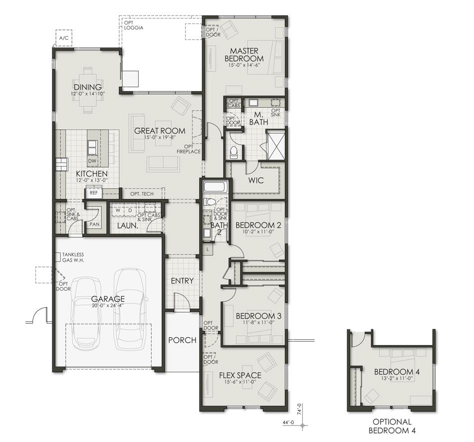 Plan Two Floorplan Image