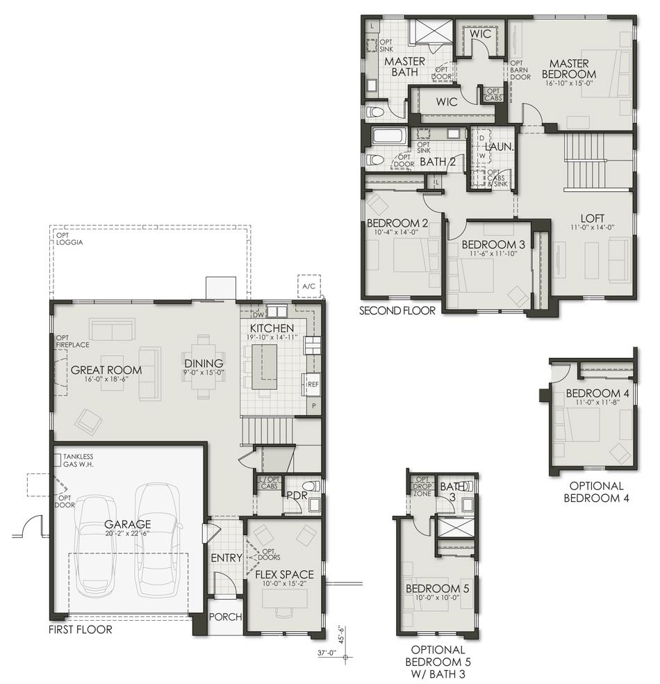 Plan Three Floorplan Image