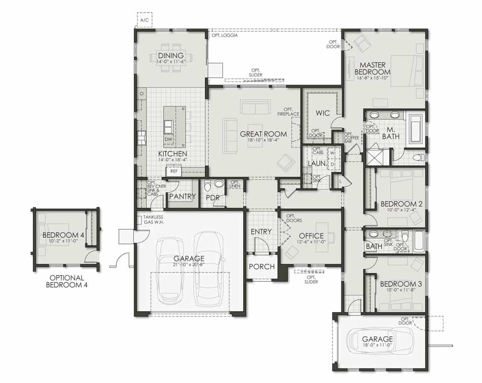 Plan Six Floorplan Image