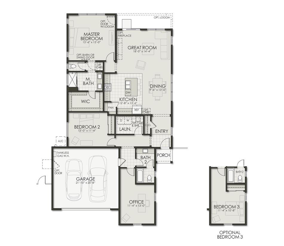 Plan One Floorplan Image