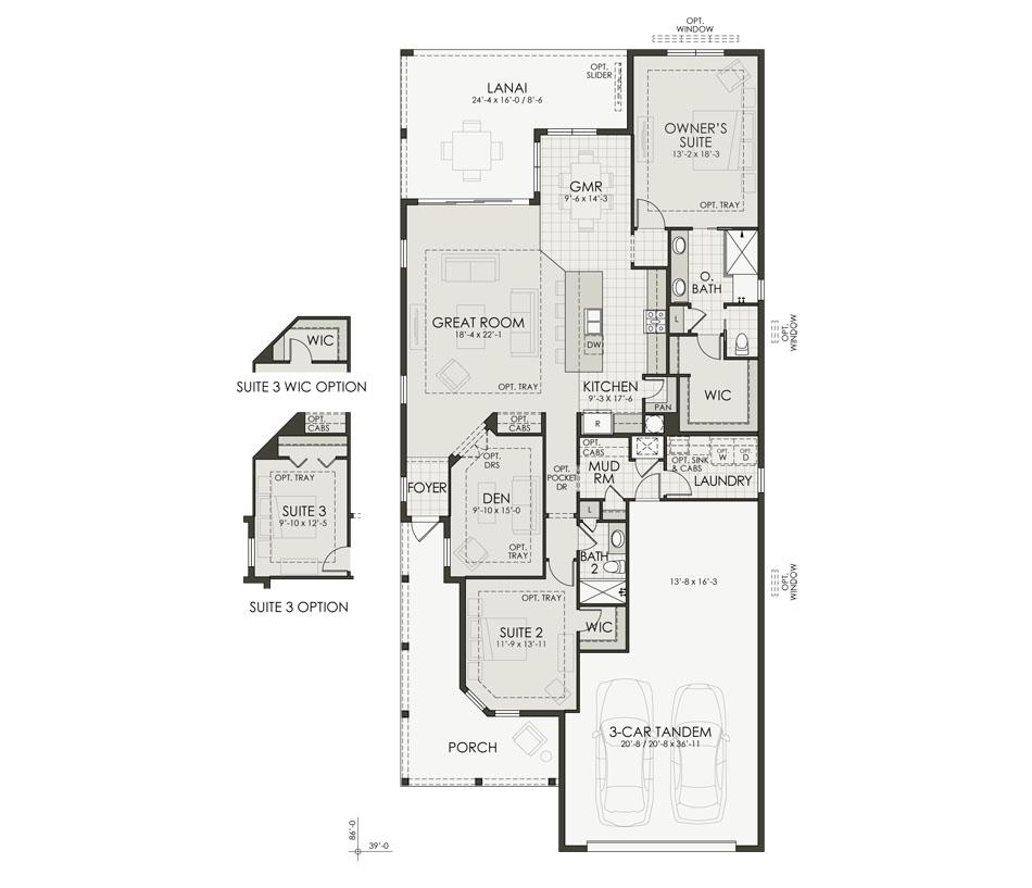 Lot 283 Floorplan Image