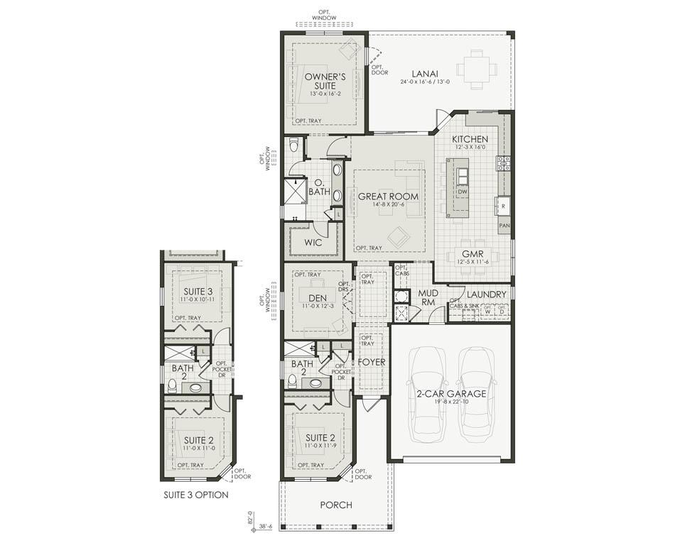 Lot 286 - Furnished Model Floorplan Image