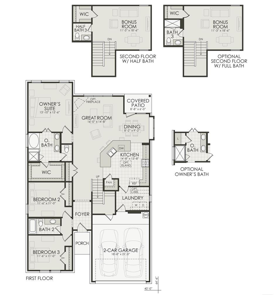 Benton II Floorplan Image