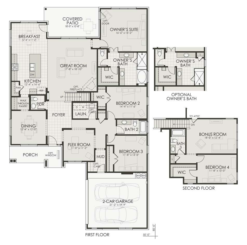Bristol IV Floorplan Image