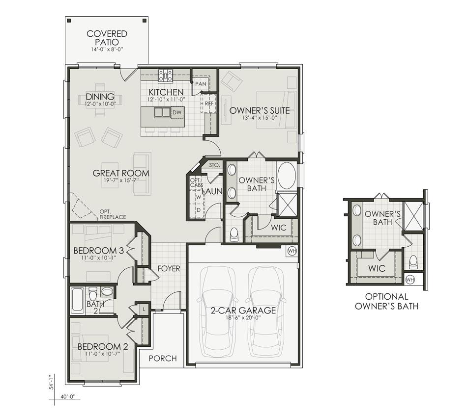 Kendall Floorplan Image
