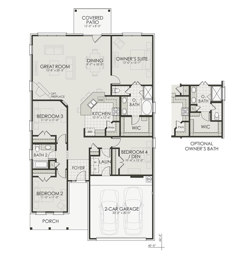 Liberty Floorplan Image