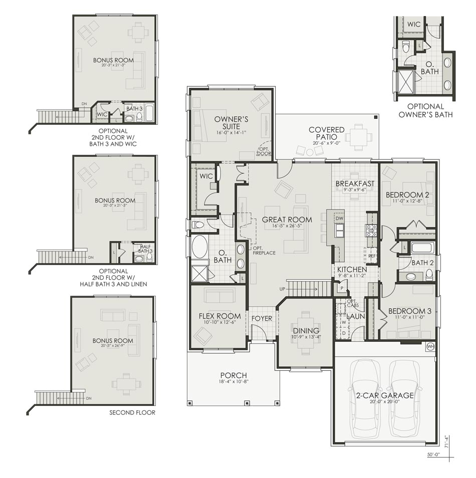 Rockport II Floorplan Image
