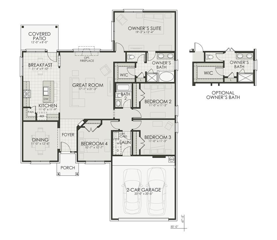 Taylor II Floorplan Image