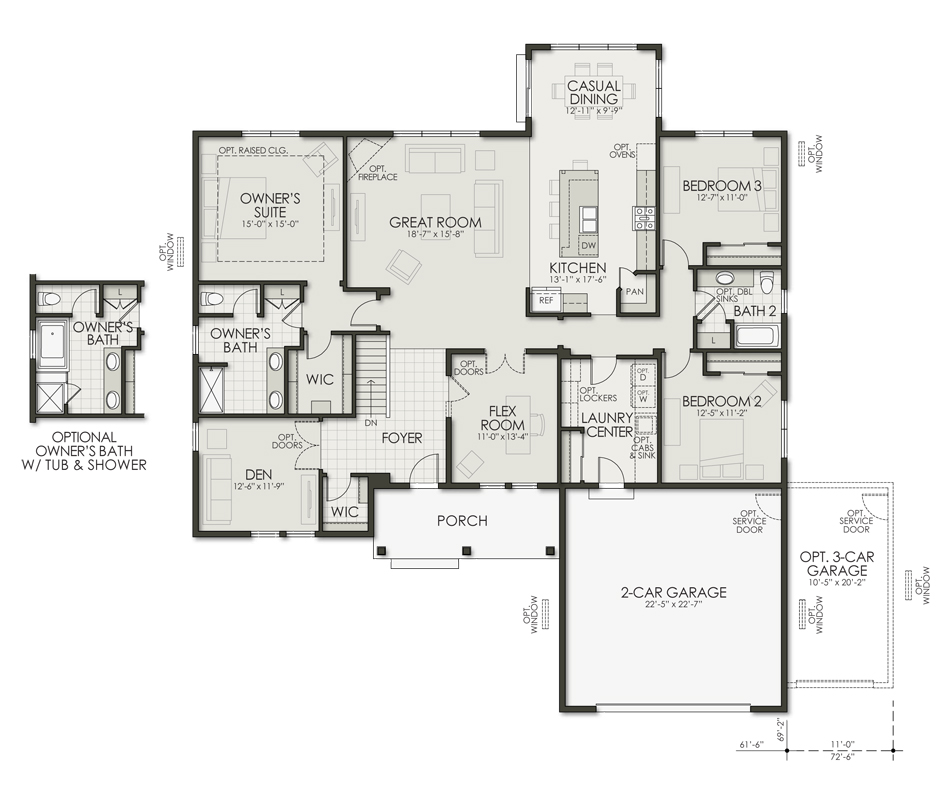 Bayfield Floorplan Image