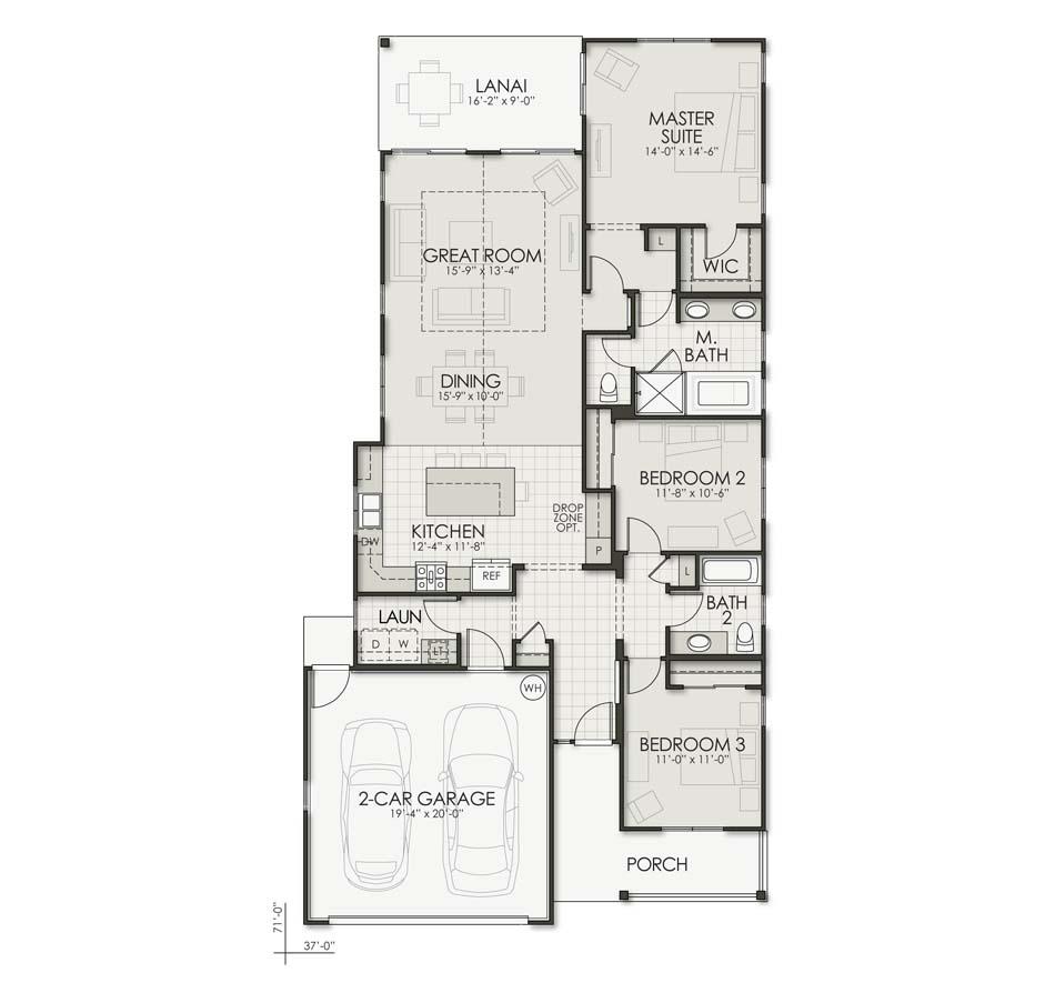 Mokihana (IK4) Floorplan Image