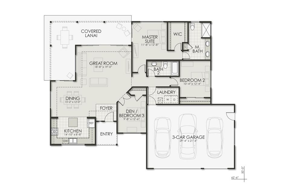 Kiawe Floorplan Image