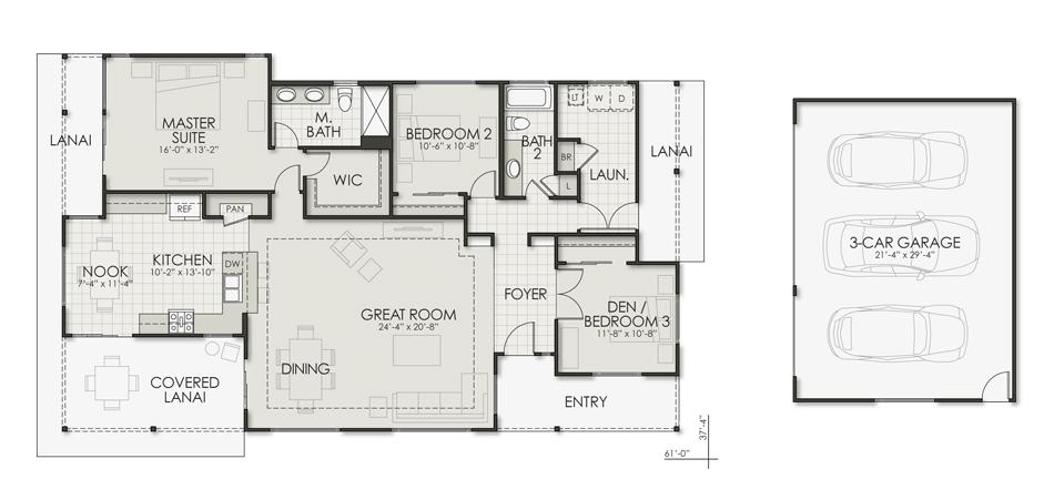 Ohia Floorplan Image