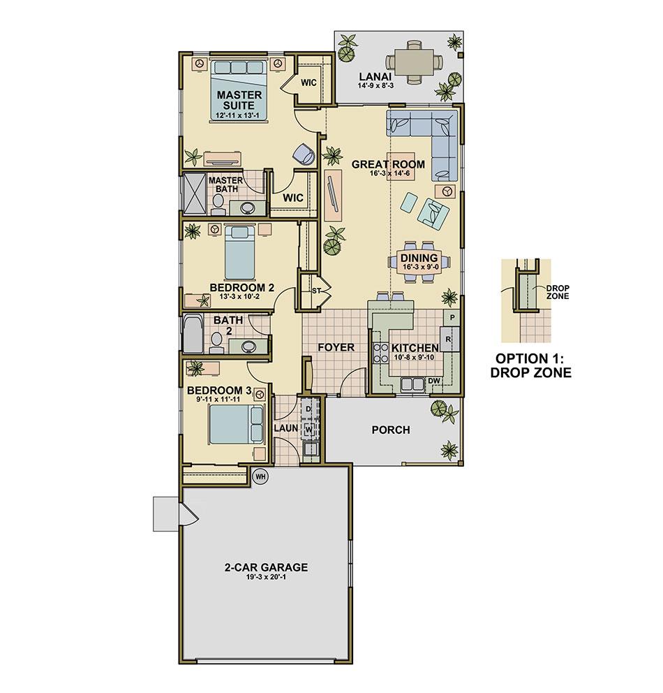 Hapuna (P1) Floorplan Image