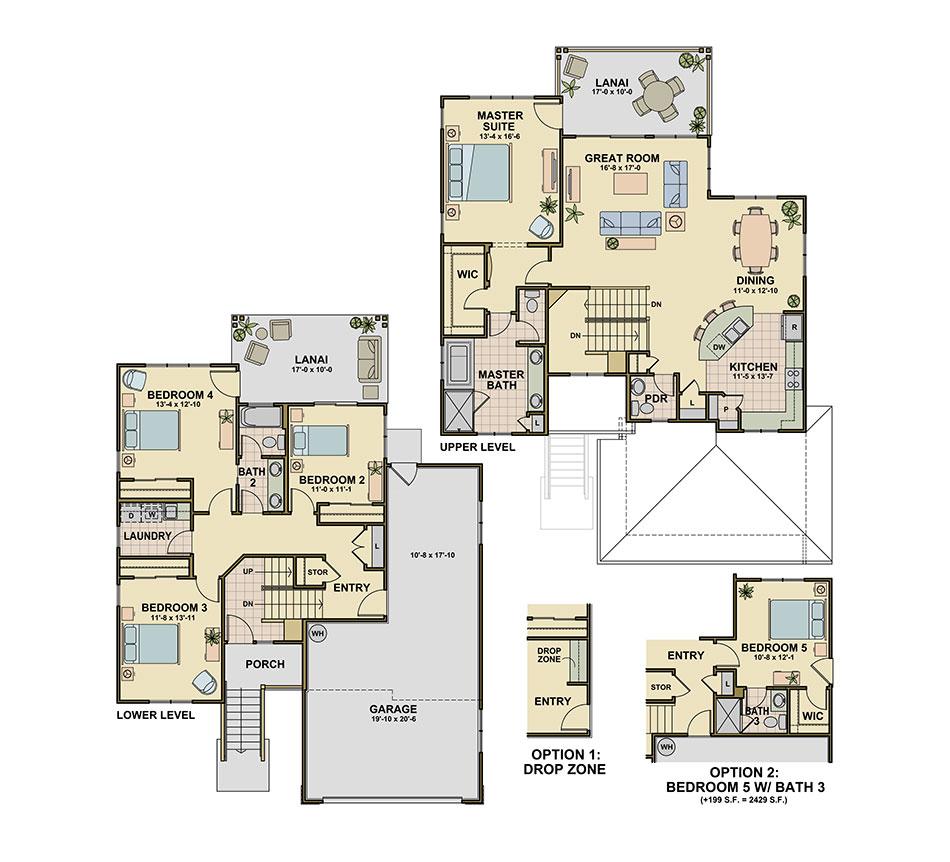 Koele (P7) Floorplan Image