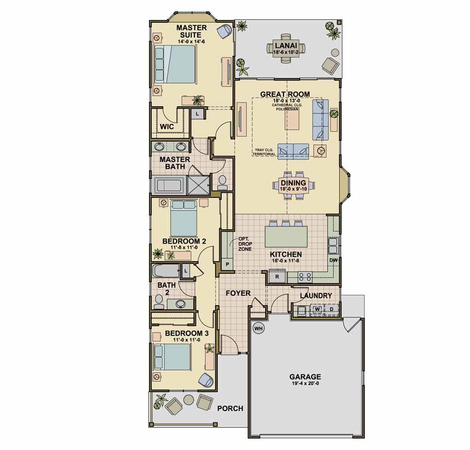 Ko'olau (P10) Floorplan Image