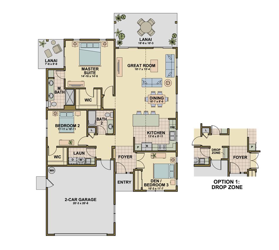 Princeville (P2) Floorplan Image
