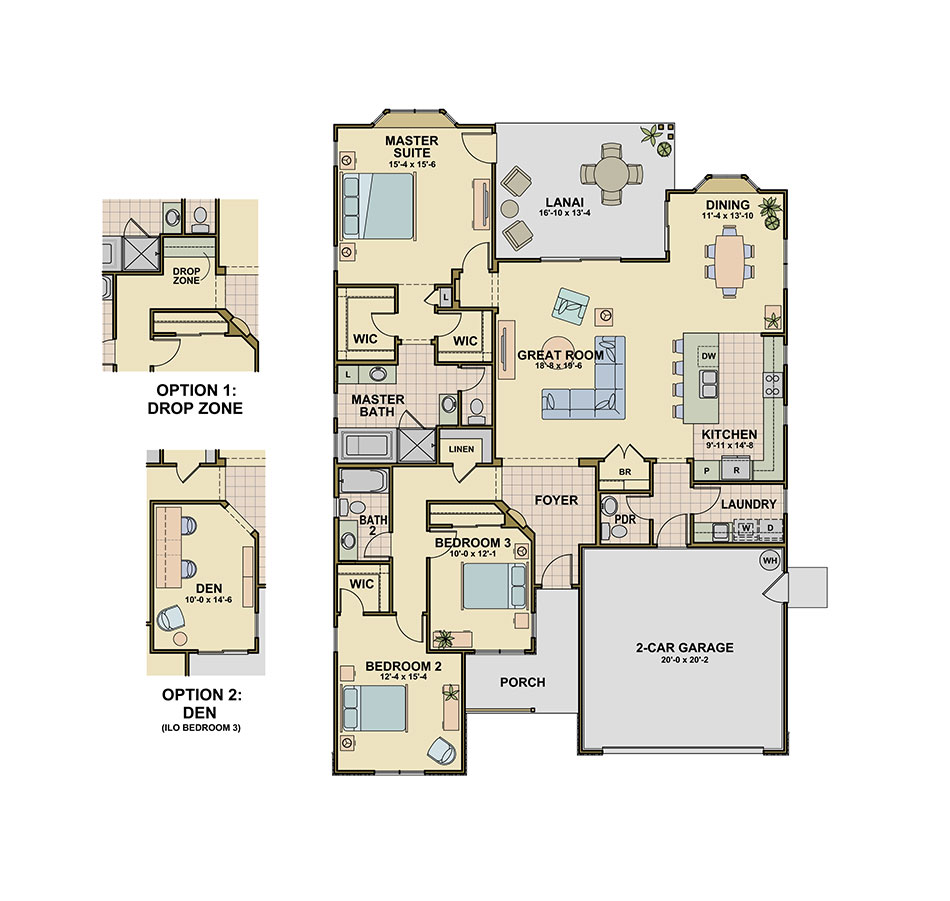 Waialae (P5) Floorplan Image