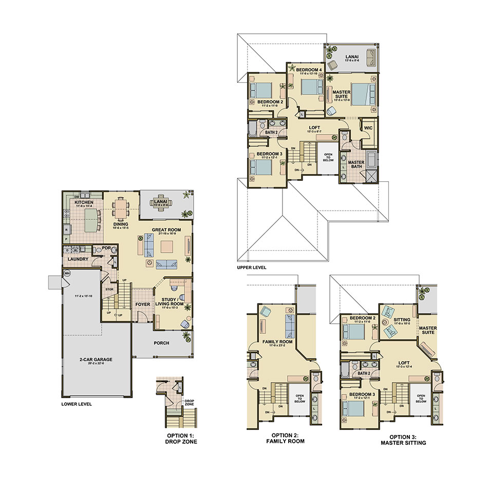 Wailea (P8) Floorplan Image
