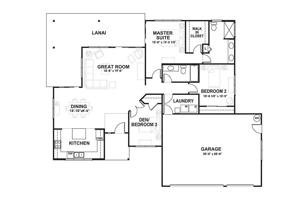 Plan 1 Floorplan Image