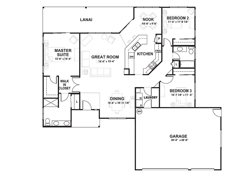 Plan 2 Floorplan Image