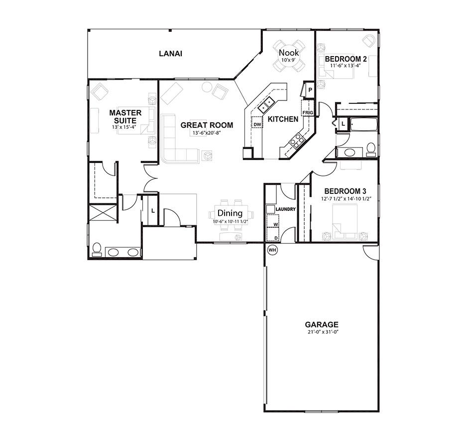 Plan 6 Floorplan Image